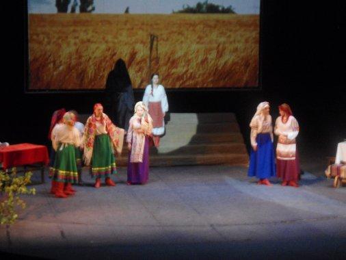 Юні актори показали на сцені театру легендарну «Марусю Чурай»