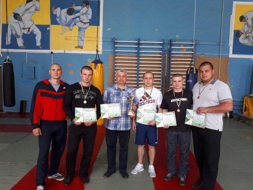 Рятувальники посіли перше місце у змаганнях з армреслінгу
