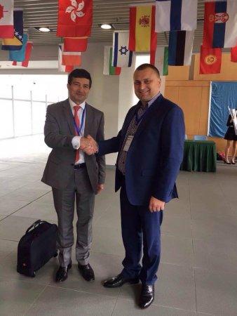 на фото - Міністр транспорту Кіпру і Голова Агентства Розвитку Територій