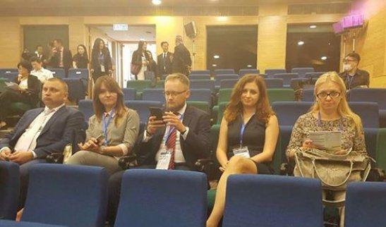 на фото - члени української делегації