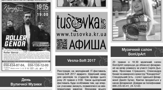 Все про все: День вуличної музики та Vesna Soft