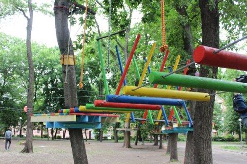 Канатний парк - перший у Кропивницькому