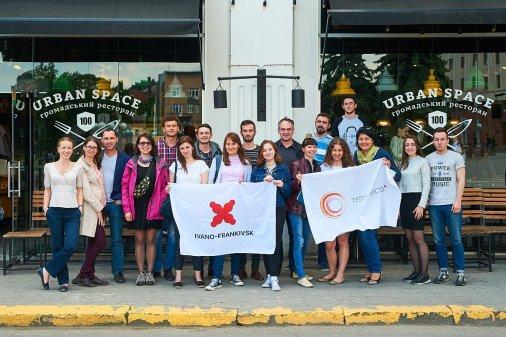 Теплі зустрічі з обміну досвідом пройшли в Івано-Франківську