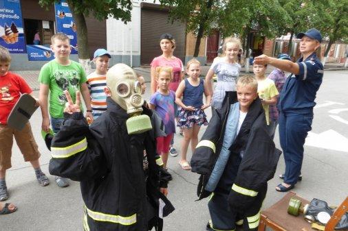 Діти у патріотичному таборі заряджались позитивом