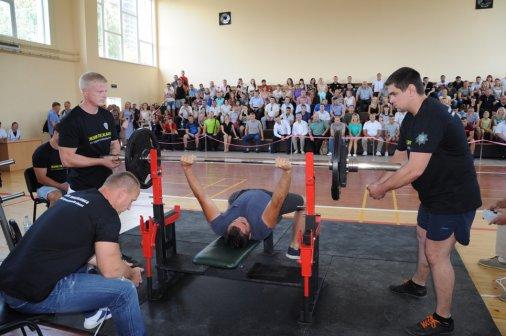 Чемпіонат з пауерліфтингу - на Кубок начальника Нацполіції