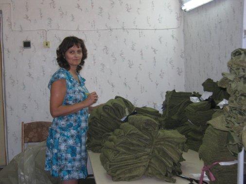 Новостворена швейна філія виготовляє одяг військовим