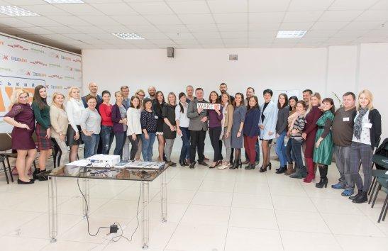 Учасниці та учасники першого тренінгу, авторка фото - Оленка Карпенко
