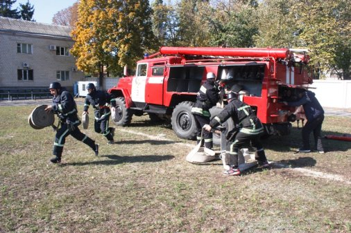 Обласні змагання з пожежно-прикладного спорту