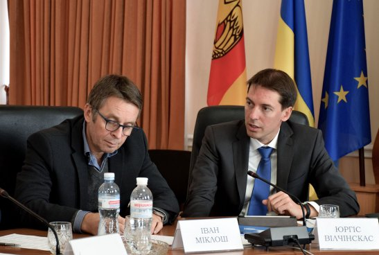 Іван Міклош та Юргіс Вілчінкас