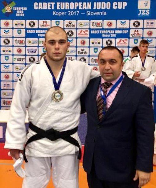 «Срібло» Вадима Велкова на кадетському Кубку Європи