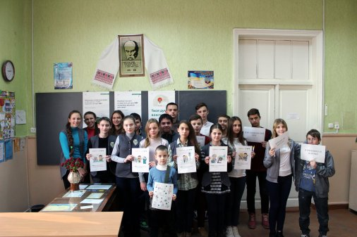 Сергій Воскобойник розповів дітям, як поводитися у транспортному засобі