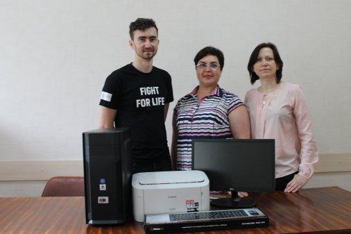 Тубдиспансер отримав техніку за проектом «100% життя та якісних послуг на Кіровоградщині»