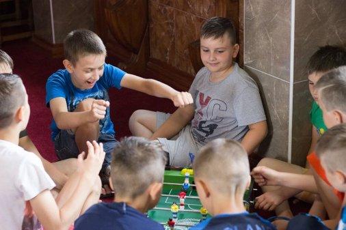 Лагерь выходного дня на спортивной базе «Борец»