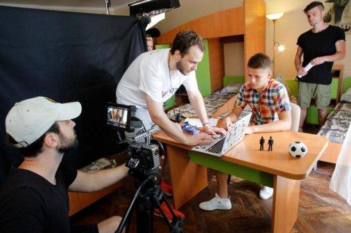 Діти з Кропивницького знімаються у кіно