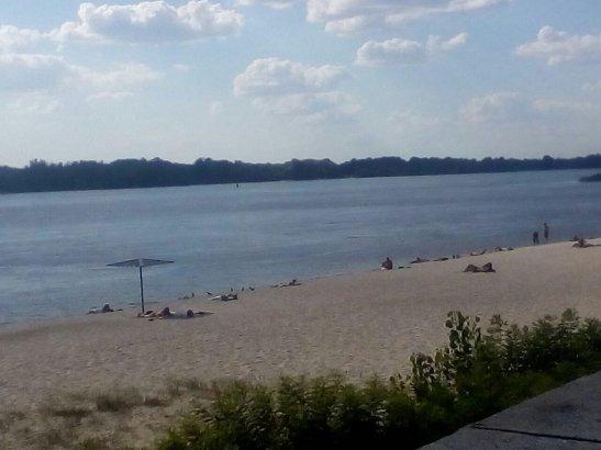Вид на Дніпро з набережної