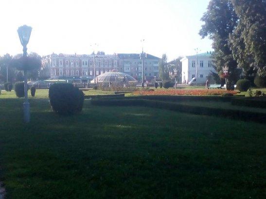 Кругла Площа та Монумент Слави, Полтава
