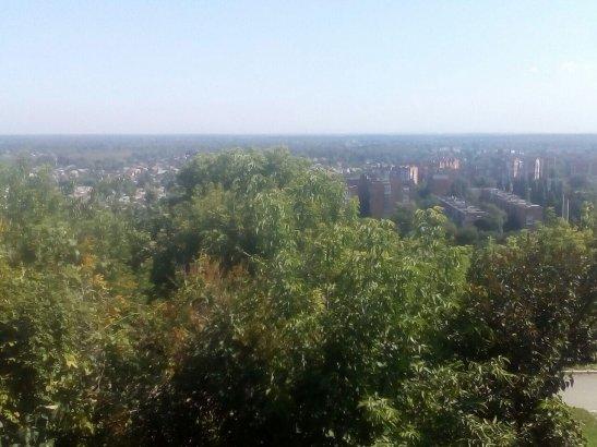 Вид з Іванової Гори, Полтава