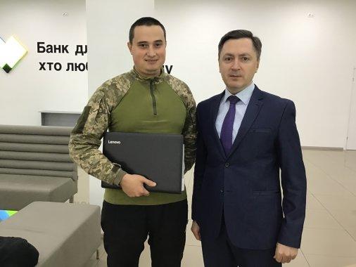 Кропивничанин виграв сучасний ноутбук в акції ПриватБанку та Masterсard