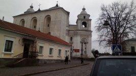Собор Святих Петра і Павла. Вид з РинковоїПлощі