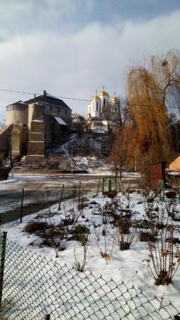 Замкова гора в Острозі - Острозький замок
