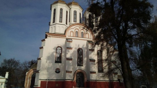 Замкова гора в Острозі - Богоявленська церква