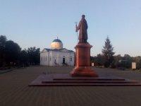 місто Прилуки. Пам'ятки Валу - пам'ятник Іосаву Бєлгородському