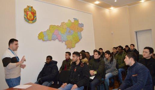 Студенти-іноземці дізналися про іміграційні правила