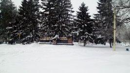 пам'ятник жителям Помічної, загиблим у Другій світовій війні