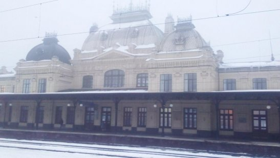 Вокзал міста Жмеринка