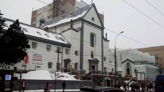 вулиця Соборна - центральна вулиця Вінниці