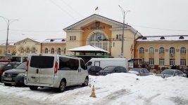 Залізничний вокзал міста Вінниця