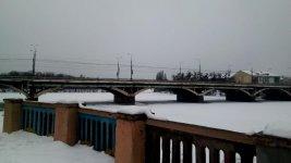міст через річку Південний Буг