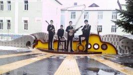 """інсталяція на честь гурту """" Бітлз"""" у місті Вінниця"""