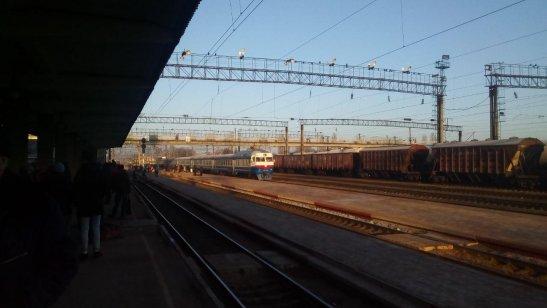 """дизель-поїзд  """"Олевськ - Коростень"""""""
