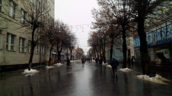 вулиця Михайлівська - головна пішохідна вулиця Житомира