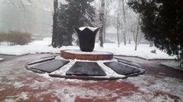 Пам'ятник на честь загиблих у Афганістані