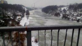 пішохідний міст над річкою Тетерів, Житомир