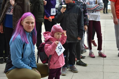 Кропивницький бігав з нагоди Міжнародного жіночого дня