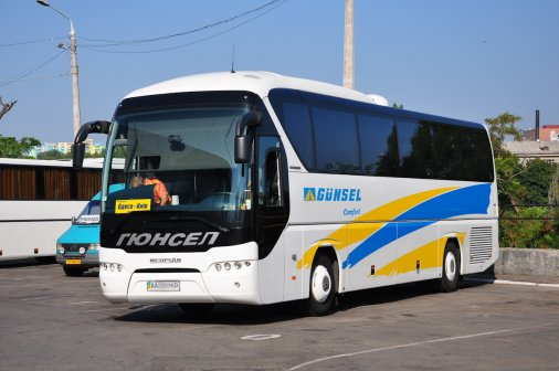 Квитки на автобуси Гюнсел можна купити через Приват24