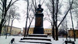 пам'ятник Миколі Гоголю у місті Ніжин