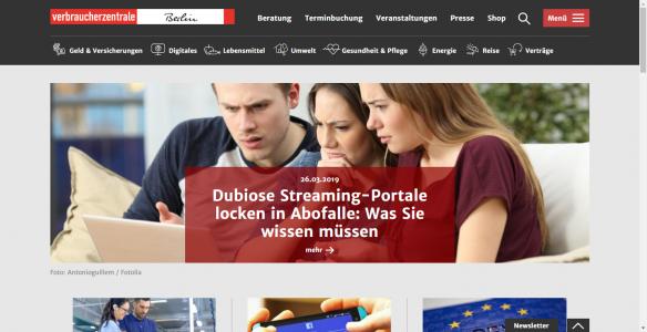 Споживчий центр Берліну: Запобігти легше, аніж потім вирішити проблему!