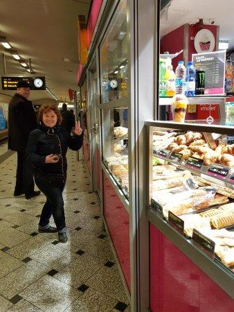 Вікторія Талашкевич в метро у Берліні, фото - Світлана Щегель