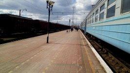 пасажирська платформа станції Знам'янка