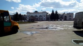привокзальна площа, місто Знам'янка