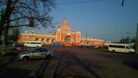Залізничний вокзал міста Чернігів