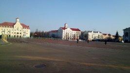 Красна площа у місті Чернігів