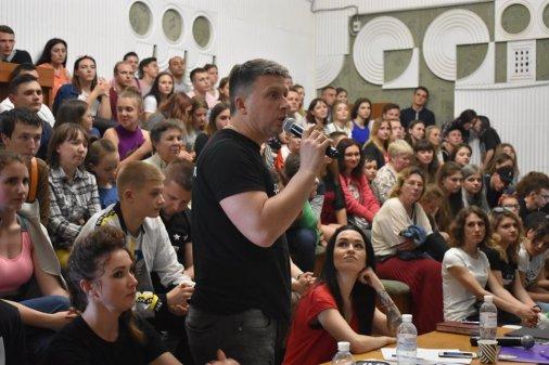 Фінал молодіжної ліги гумору у Кропивницькому