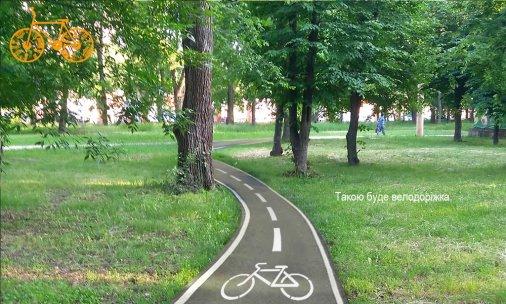 Якою буде перша велосипедна доріжка у Кропивницькому?