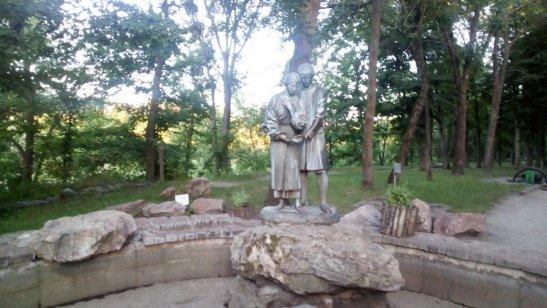 пам'ятник Яну і Наталці - героям українськоїнародної легенди