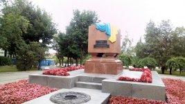 пам'ятник на честь загиблих за волю України у місті Харків